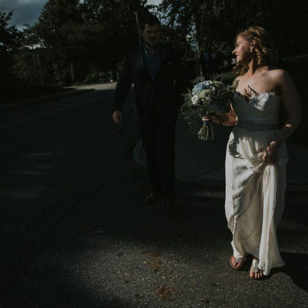 Downtown Asheville Summer Wedding