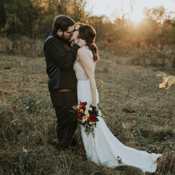 Intimate Autumn Mountain Wedding