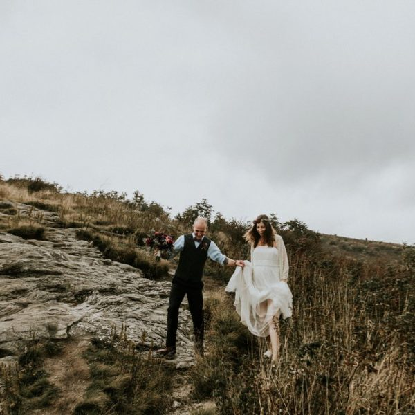 Intimate Looking Glass Falls Elopement