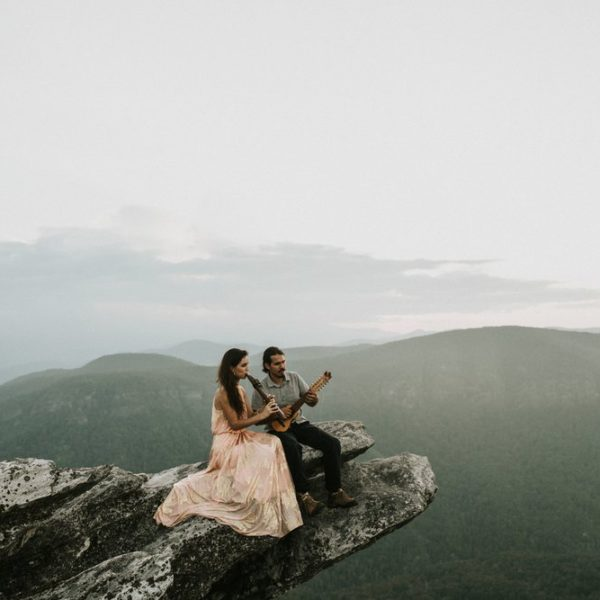 Blue Ridge Mountain Engagement Session