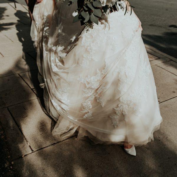 Downtown Asheville Springtime Wedding