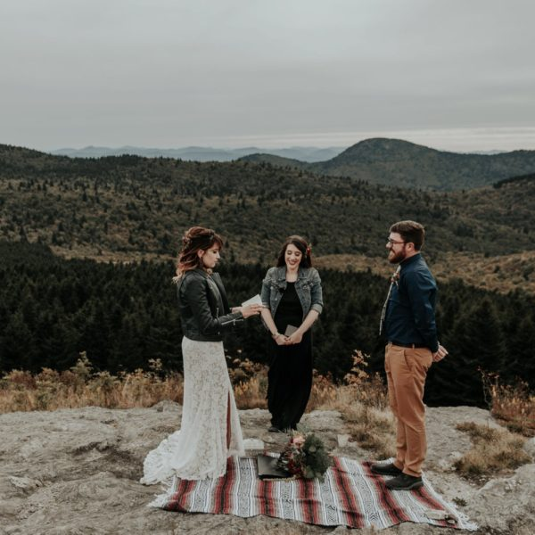 Black Balsam Knob Adventure Elopement